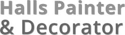 Halls Painters and Decorators logo